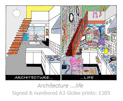 architecture life cartoon for sale